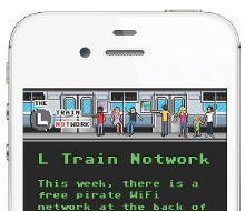 L Train Notwork – Mobile WiFi Intranet